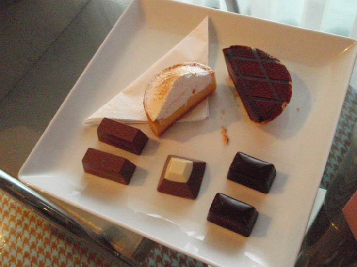 Half a dessert platter