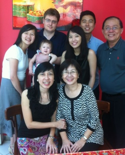 Family Ang and Lee