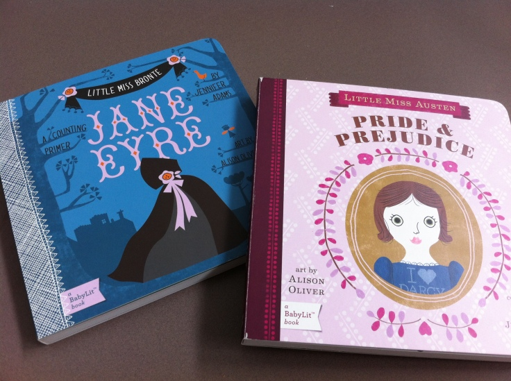 Jane Eyre and Pride & Prejudice counting primers