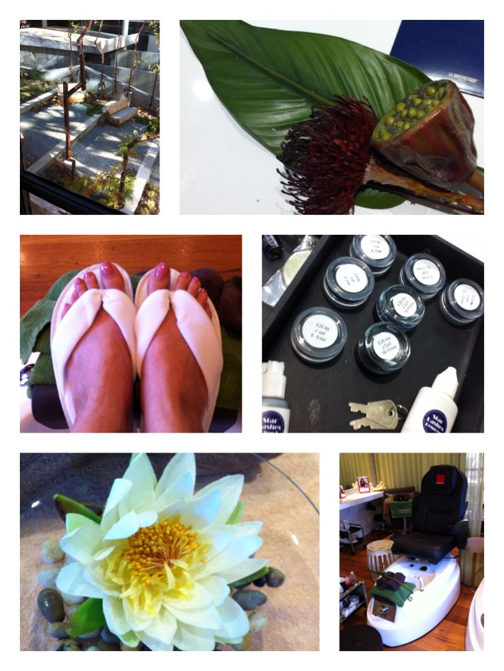 SOMA day spa photo montage