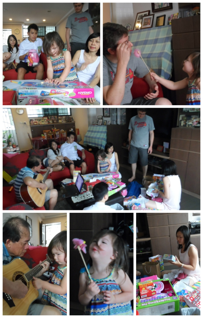 Opening presents photo montage