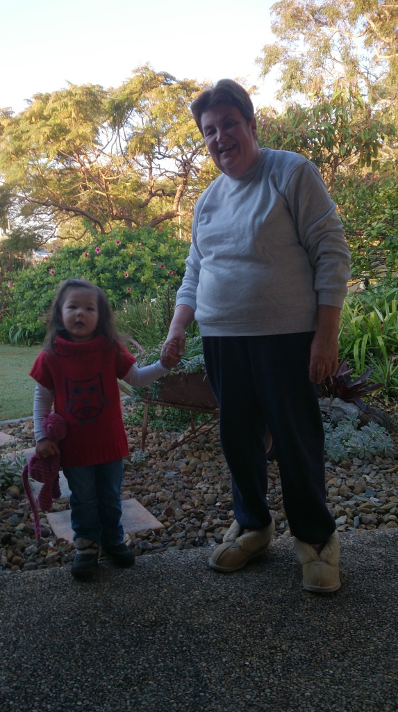 Arddun with Nanna