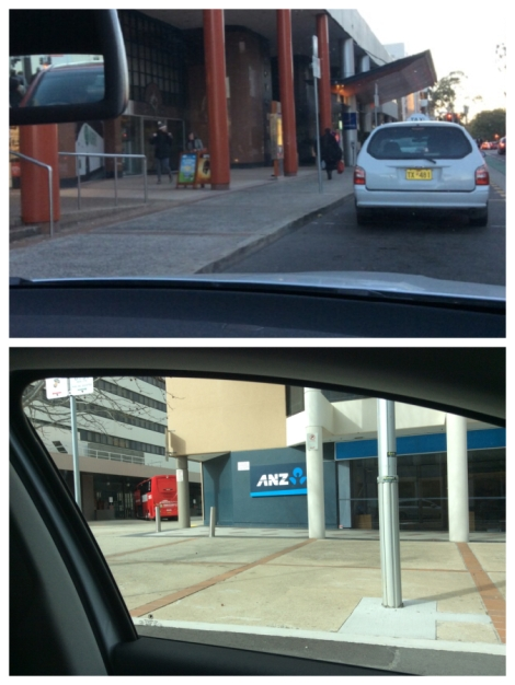 Parking around Jollimont Centre
