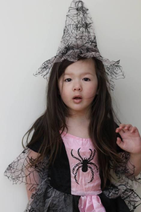 Arddun dressed as Spider Witch