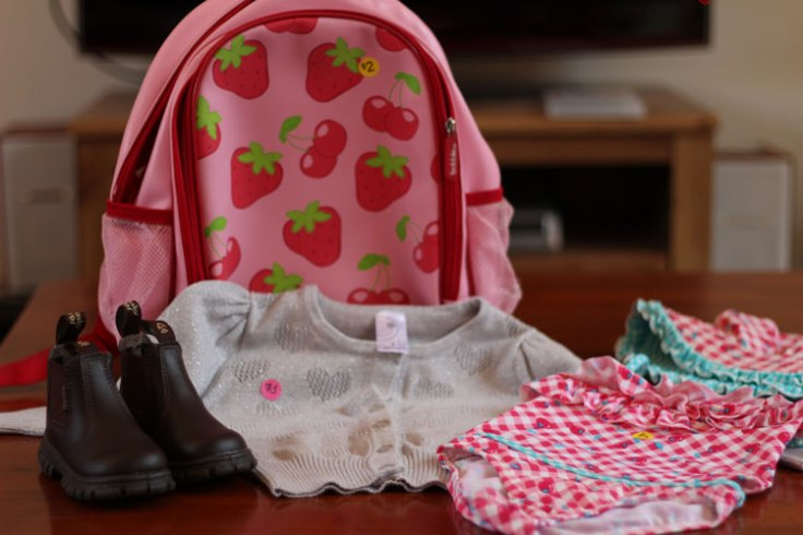 Things bought from Baby and Kids Market in November 2014