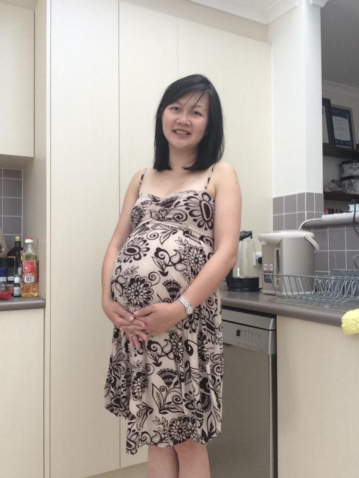 Me at 37 weeks