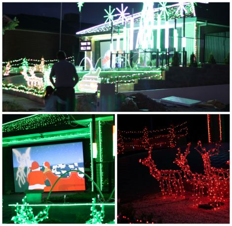 Christmas lights montage 2014