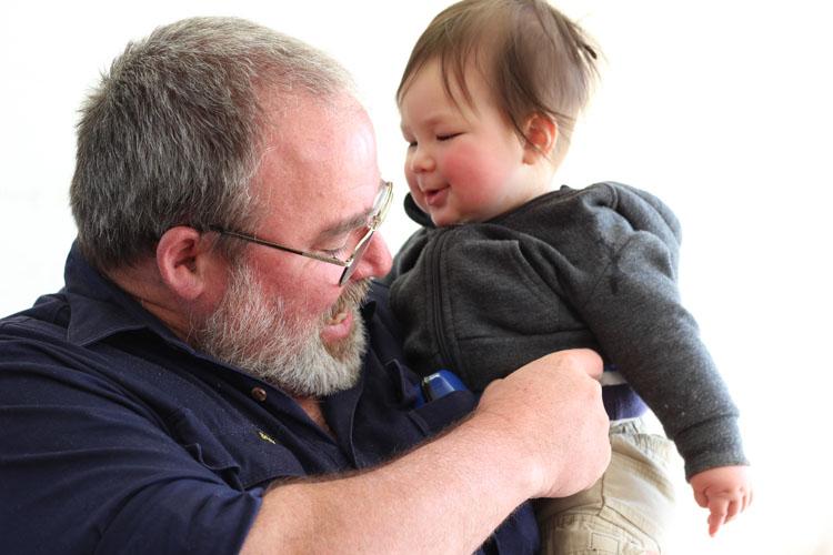 Raymond tickling Atticus