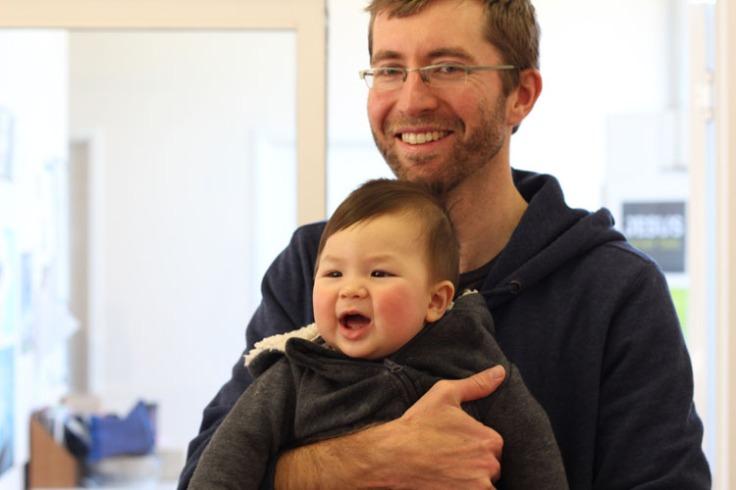 Atticus with Mark