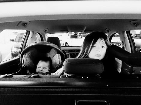 Atticus and Arddun in car