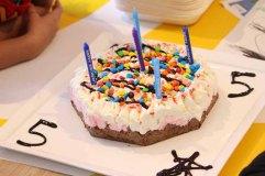 Birthday ice-cream cake!
