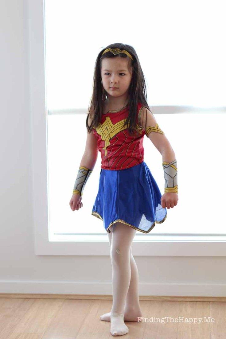 Wonder Woman strikes a pose